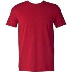 vaatteet Miehet Lyhythihainen t-paita Gildan Soft-Style Antique Cherry Red