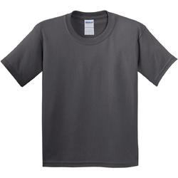 vaatteet Lapset Lyhythihainen t-paita Gildan 5000B Charcoal