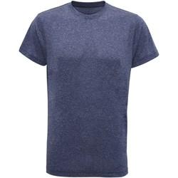 vaatteet Miehet Lyhythihainen t-paita Tridri TR010 Blue Melange
