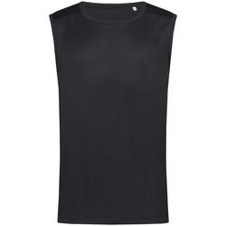 vaatteet Miehet Hihattomat paidat / Hihattomat t-paidat Stedman  Black Opal
