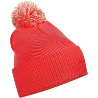 Asusteet / tarvikkeet Lapset Pipot Beechfield B450B Bright Red / Off White