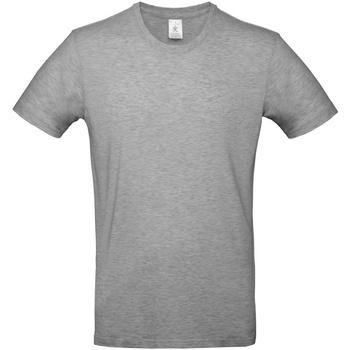 vaatteet Miehet Lyhythihainen t-paita B And C TU03T Sport Grey