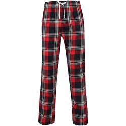 vaatteet Miehet pyjamat / yöpaidat Skinni Fit SFM83 Red/Navy Check
