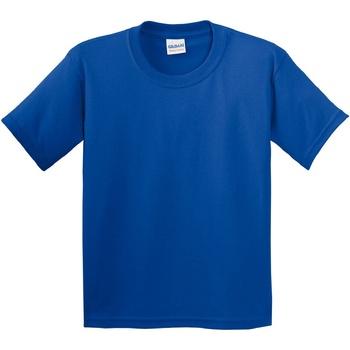 vaatteet Lapset Lyhythihainen t-paita Gildan 5000B Royal