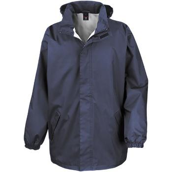 vaatteet Miehet Tuulitakit Result R206X Navy Blue