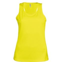 vaatteet Naiset Hihattomat paidat / Hihattomat t-paidat Kariban Proact Proact Fluorescent Yellow