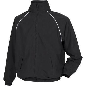 vaatteet Lapset Pusakka Tombo Teamsport TL409 Black/ White piping