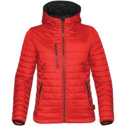 vaatteet Naiset Toppatakki Stormtech ST804 True Red/ Black