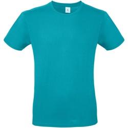 vaatteet Miehet Lyhythihainen t-paita B And C TU01T Real Turquoise