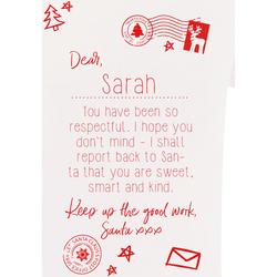 vaatteet Lapset Lyhythihainen t-paita Christmas Shop CS145 White