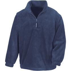 vaatteet Miehet Fleecet Result R33X Navy Blue