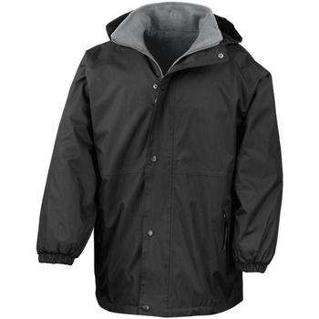 vaatteet Miehet Parkatakki Result R160X Black/Grey