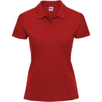 vaatteet Naiset Lyhythihainen poolopaita Russell 569F Classic Red