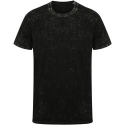 vaatteet Lyhythihainen t-paita Skinni Fit SF203 Washed Black