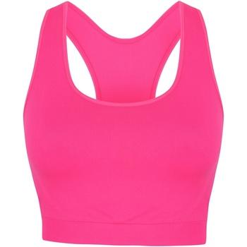 vaatteet Naiset Urheiluliivit Skinni Fit SK235 Neon Pink