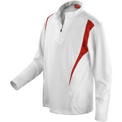 vaatteet Naiset Ulkoilutakki Spiro S178X White/Red/White