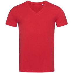 vaatteet Miehet Lyhythihainen t-paita Stedman Stars  Pepper Red