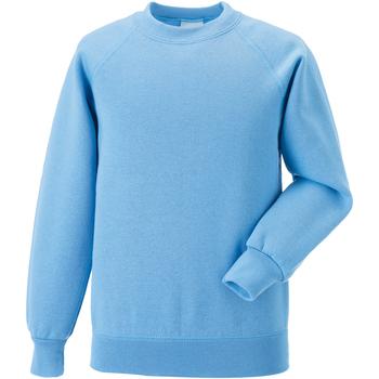 vaatteet Lapset Svetari Jerzees Schoolgear 7620B Sky Blue