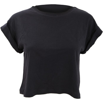 vaatteet Naiset Lyhythihainen t-paita Mantis M96 Black