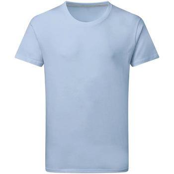 vaatteet Miehet Lyhythihainen t-paita Sg Perfect Sky Blue