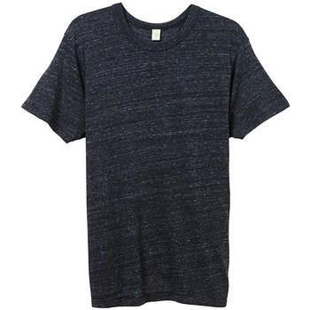 vaatteet Miehet Lyhythihainen t-paita Alternative Apparel AT001 Eco Black