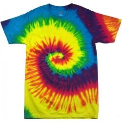 vaatteet Naiset Lyhythihainen t-paita Colortone Rainbow Rainbow