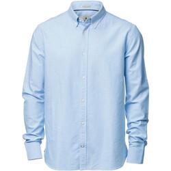 vaatteet Miehet Pitkähihainen paitapusero Nimbus NB45M Light Blue