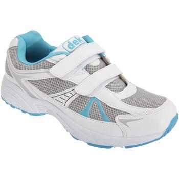 kengät Naiset Matalavartiset tennarit Dek  White/Blue