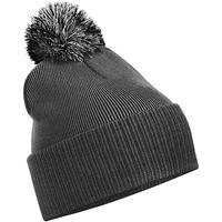Asusteet / tarvikkeet Tytöt Pipot Beechfield Snowstar Graphite Grey/Light Grey