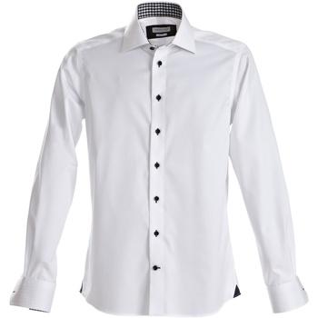 vaatteet Miehet Pitkähihainen paitapusero J Harvest & Frost Red Bow White/ Navy