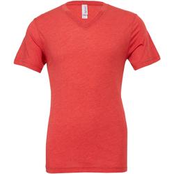 vaatteet Miehet Lyhythihainen t-paita Bella + Canvas CA3415 Light Red Triblend