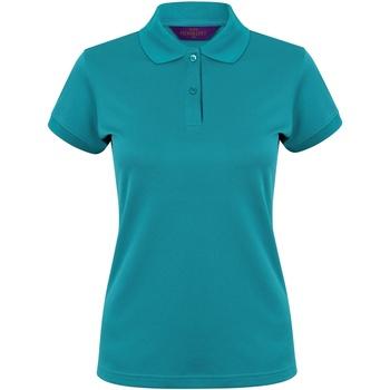 vaatteet Naiset Lyhythihainen poolopaita Henbury Coolplus Bright Jade