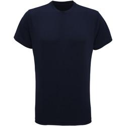 vaatteet Miehet Lyhythihainen t-paita Tridri TR010 French Navy