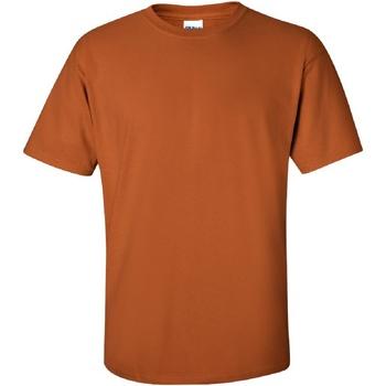 vaatteet Miehet Lyhythihainen t-paita Gildan Ultra Texas Orange
