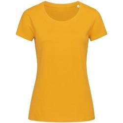 vaatteet Naiset Lyhythihainen t-paita Stedman Stars  Indian Yellow