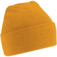 Asusteet / tarvikkeet Miehet Pipot Beechfield Soft Feel Mustard
