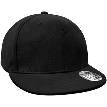 Asusteet / tarvikkeet Lippalakit Beechfield Rapper Cap Black