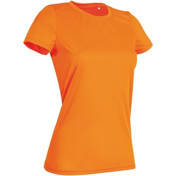 vaatteet Naiset Lyhythihainen t-paita Stedman  Cyber Orange