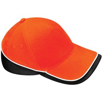 Asusteet / tarvikkeet Lippalakit Beechfield B171 Orange/Black/ White