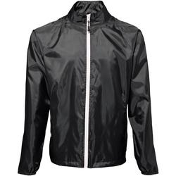 vaatteet Miehet Tuulitakit 2786 TS011 Black/ White