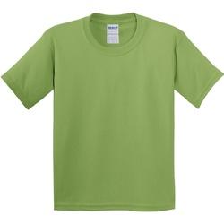 vaatteet Lapset Lyhythihainen t-paita Gildan 5000B Kiwi
