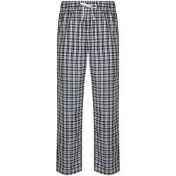 vaatteet Miehet pyjamat / yöpaidat Skinni Fit SFM83 White/Multi Check