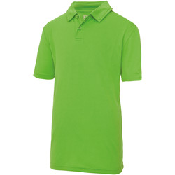 vaatteet Lapset Lyhythihainen poolopaita Just Cool  Lime