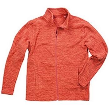 vaatteet Miehet Fleecet Stedman  Pumpkin Melange
