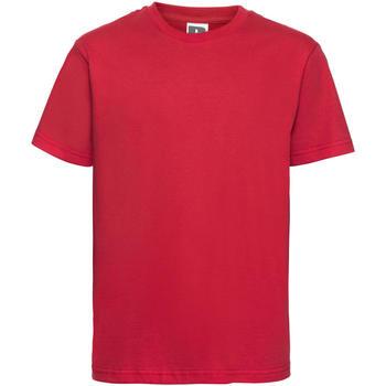 vaatteet Lapset Lyhythihainen t-paita Russell 155B Classic Red