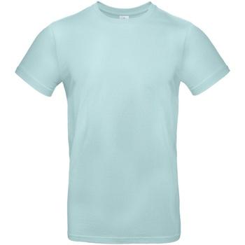 vaatteet Miehet Lyhythihainen t-paita B And C TU03T Millennial Mint
