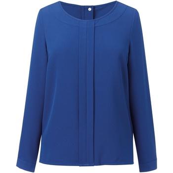 vaatteet Naiset Topit / Puserot Brook Taverner BR121 Royal Blue