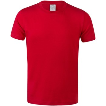 vaatteet Lapset Lyhythihainen t-paita Skinni Fit SM121 Bright Red