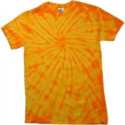 vaatteet Lyhythihainen t-paita Colortone Tonal Spider Gold