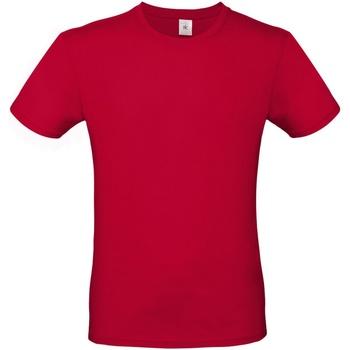 vaatteet Miehet Lyhythihainen t-paita B And C TU01T Deep Red